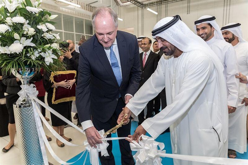 أحمد بن سعيد يفتتح أكبر مصنع لشركة يونيليفر في المنطقة