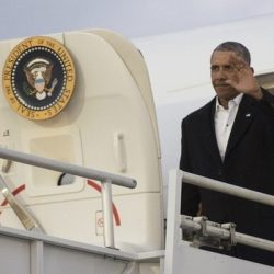 """باراك أوباما اقر بأنه """"استهان"""" بما للقرصنة المعلوماتية من تأثير على الأنظمة الديموقراطية،"""