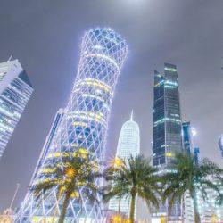 حققت قطر نمواً اقتصادياً قوياً، رغم جميع التحديات الاقتصادية التي واجهتها،