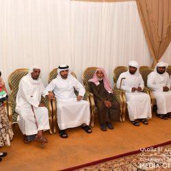 الشيخ محمد بن زايد في مقدمة مستقبلي الرئيس السوداني