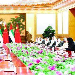 الشيخ محمد بن راشد يشهد افتتاح منتدى الحزام والطريق للتعاون الدولي في بكين