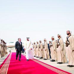 الشيخ محمد بن زايد يستقبل ملك الأردن وبحثا تعزيز العلاقات الأخوية والتطورات الدولية