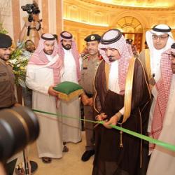 """مساعد وزير الداخلية لشؤون العمليات يفتتح """"سعودي أوفسك 2019"""