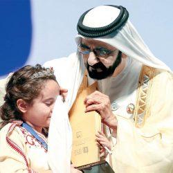 الشيخ محمد بن راشد يحتفي بـ13.5 مليون بطل معرفة عربي