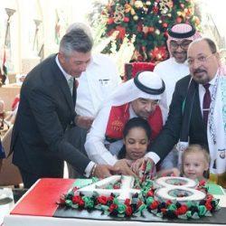 الشيخ خليفة بن زايد ونائبه ومحمد بن زايد يعزون خادم الحرمين في وفاة متعب بن عبدالعزيز