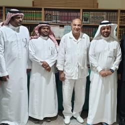 رئيس نادي جدة الأدبي يستقبل أعضاء الاتحاد العربي للثقافة الرياضية