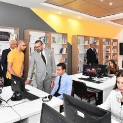 """الملك محمد السادس يدشن """"أركانة"""" للإنصات وتوجيه الشباب إلى سوق العمل"""
