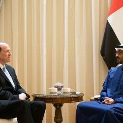 الشيخ محمد بن زايد يستقبل رئيس مجموعة البنك الدولي