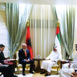 الشيخ محمد بن زايد يبحث ورئيس وزراء ألبانيا علاقات التعاون