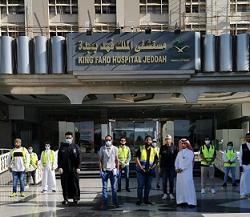 """مبادرة """"الرعاية الصيدلية بمستشفى الملك فهد """" تخدم ١٤٠٠ مستفيد بجدة"""