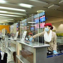 وكالة سلامة الطيران الأوروبية توصي بارتداء الكمامات واحترام التباعد خلال الرحلات الجوية