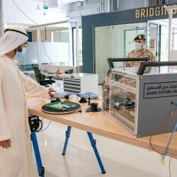 الشيخ محمد بن راشد يفتتح مختبرات دبي للمستقبل