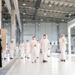 """الشسخ محمد بن زايد يزور """"ستراتا"""" ويطلع على مشاريعها التصنيعية المتقدمة في مجال الطيران"""