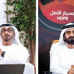 الشيخ محمد بن راشد ومحمد بن زايد : مسبار الأمل مشروع تاريخي يجسد رؤية زايد