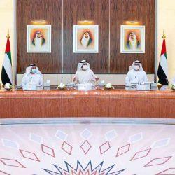 الشيخ محمد بن راشد يترأس أول اجتماع حضوري لمجلس الوزراء