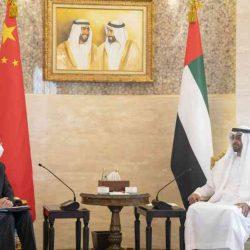 الشيخ محمد بن زايد يتلقى رسالة من الرئيس الصيني خلال استقبال مبعوثه الخاص