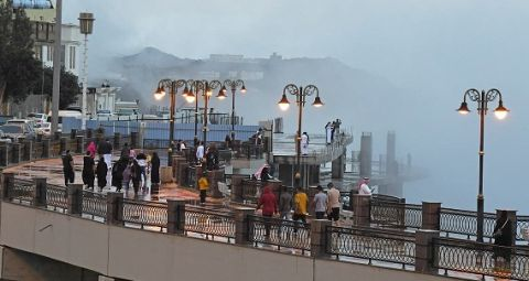 السياحة الداخلية السعودية تنعش فنادق ابها