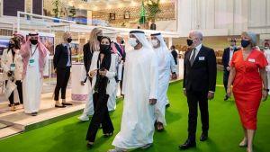 الشيخ أحمد بن سعيد يفتتح سوق السفر العربي في دبي