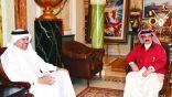 ملك البحرين يستقبل الزياني.. ويشيد بالنتائج الإيجابية لقمة المنامة