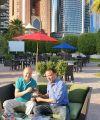 بسام عبدالسميع يهدي أعماله الأدبية الكاملة لمدير عام آيريس ميديا