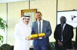السفير السوداني يدشناالمكتب الاقتصادي بين السعودية والسودان