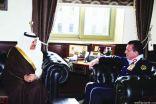 سفير المملكة بعمّان يبحث تعزيز التعاون الأمني مع مدير الأمن العام في الأردن