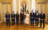 هند العتيبة تبحث مع الرحماني خطط «دولي سباقات الخيل العربية»