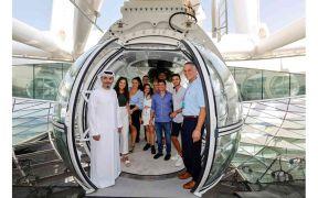 افتتاح  «عين دبي» أبوابها  و تستقبل زوارها