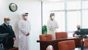 الشيخ محمد بن سعود يتفقد خطط «رأس الخيمة للإحصاء»