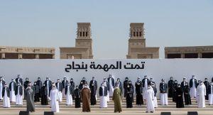 الشيخ محمد بن راشد والشيخ محمد بن زايد يكرمان فريق مسبار الأمل