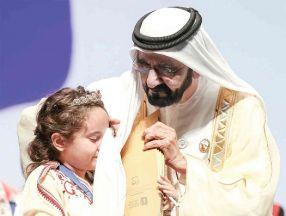 الشيخ محمد بن راشد يُلهم النشء بقصص «عالمي الصغير»