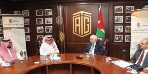 أبوغزاله يستقبل رئيس المنظمة العربية للسياحة